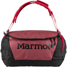 Marmot Long Hauler Duffel Bag Pequeño, brick/black
